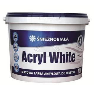 Akrylowa farba do wnętrz ACRYL WHITE