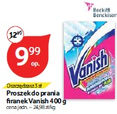 Proszek do prania firanek Vanish 400 g