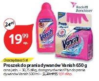 Proszek do prania dywanów Vanish 650 g