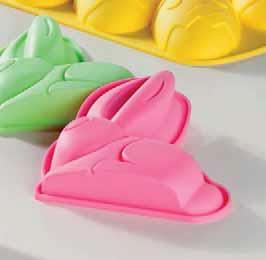 Silikonowa forma do pieczenia królik 2 szt.