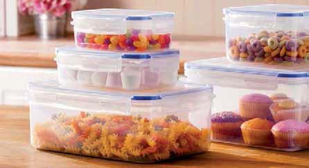 Zestaw pudełek do przechowywania żywności Klipfresh