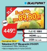 Telewizor 21,5'' Blaupunkt 215/207I