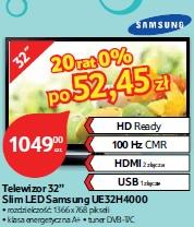 "Telewizor 32"" Slim LED Samsung UE32H4000"