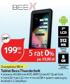 Tablet Beex Thunderbolt