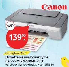 Urządzenie wielofunkcyjne Canon MG2450/MG2550