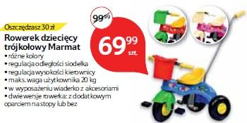 Rowerek dziecięcy trójkołowy Marmat