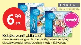 """Książka z serii """"Lila Lou"""""""