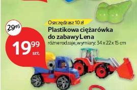 Plastikowa ciężarówka do zabawy Lena