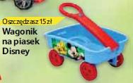Wagonik na piasek Disney