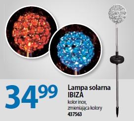 Lampa solarna IBIZA