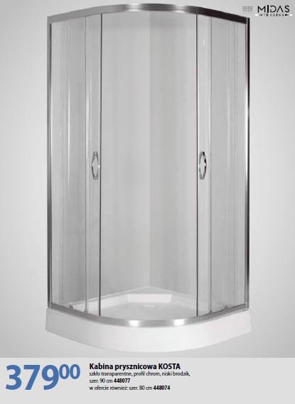 Kabina prysznicowa KOSTA