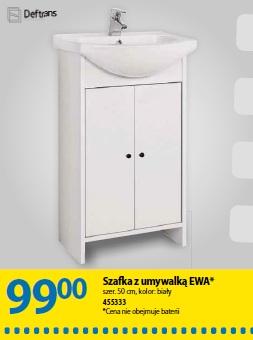 Szafka z umywalką EWA