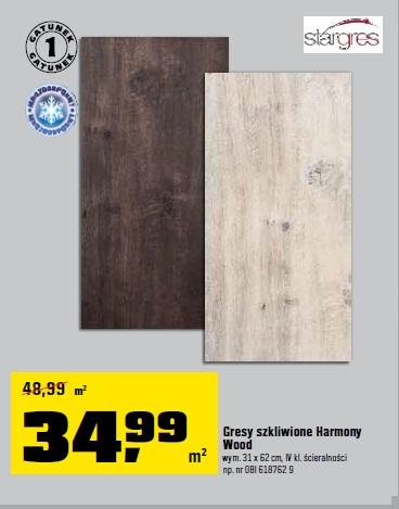 Gresy szkliwione Harmony Wood