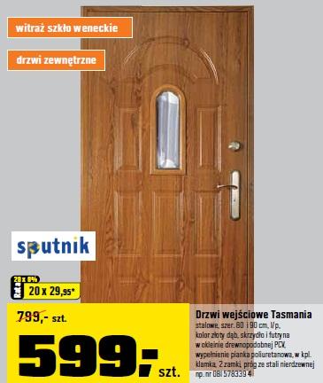 Drzwi wejściowe Tasmania