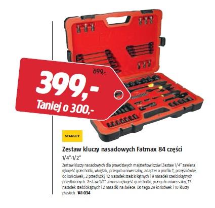 Zestaw kluczy nasadowych Fatmax 84 części