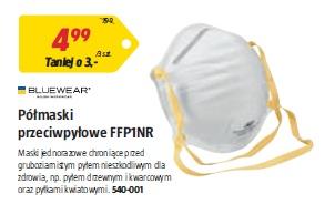 Półmaski przeciwpyłowe FFP1NR