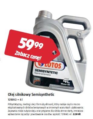 Olej silnikowy Semisynthetic