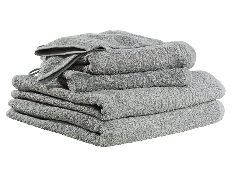 Zestaw 4 ręczników z 2 myjkami