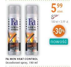 FA MEN HEAT CONTROL Dezodorant spray,
