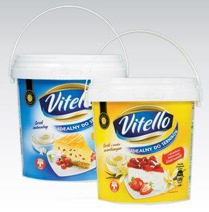 Twaróg sernikowy Vitello, 1 kg