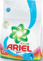 Proszek, płyn, kapsułki do prania Ariel