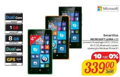Smartfon MICROSOFT LUMIA 435