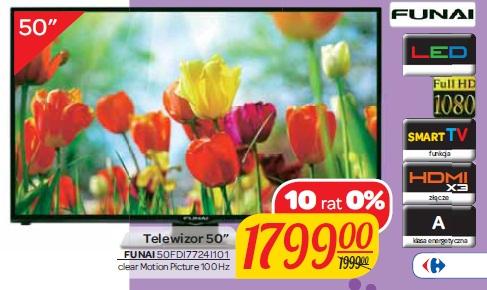 """Telewizor 50"""" FUNAI 50FDI7724I101"""