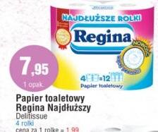 Papier toaletowy Regina Najdłuższy Delitissue