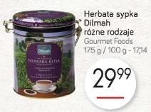 Herbata sypka Dilmah różne rodzaje Gourmet Foods