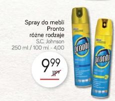 Spray do mebli Pronto różne rodzaje S.C. Johnson