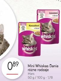 Mini Whiskas Dania różne rodzaje Mars