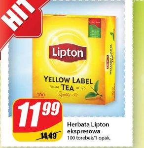 Herbata lipton ekspresowa