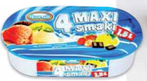 Lody Maxi Koral 1,5 l