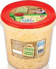 Kapusta kwaszona Tesco 3 kg