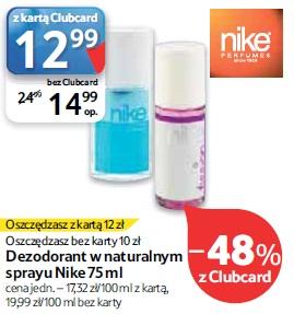 Dezodorant w naturalnym sprayu Nike 75 ml