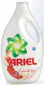 Kapsułki do prania Ariel 32 szt., Żel do prania Ariel 2,6 l