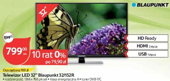 Telewizor LED 32'' Blaupunkt 32/152R
