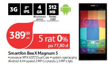 Smartfon BeeX Magnum 5