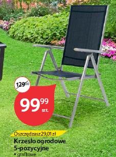 Krzesło ogrodowe 5-pozycyjne