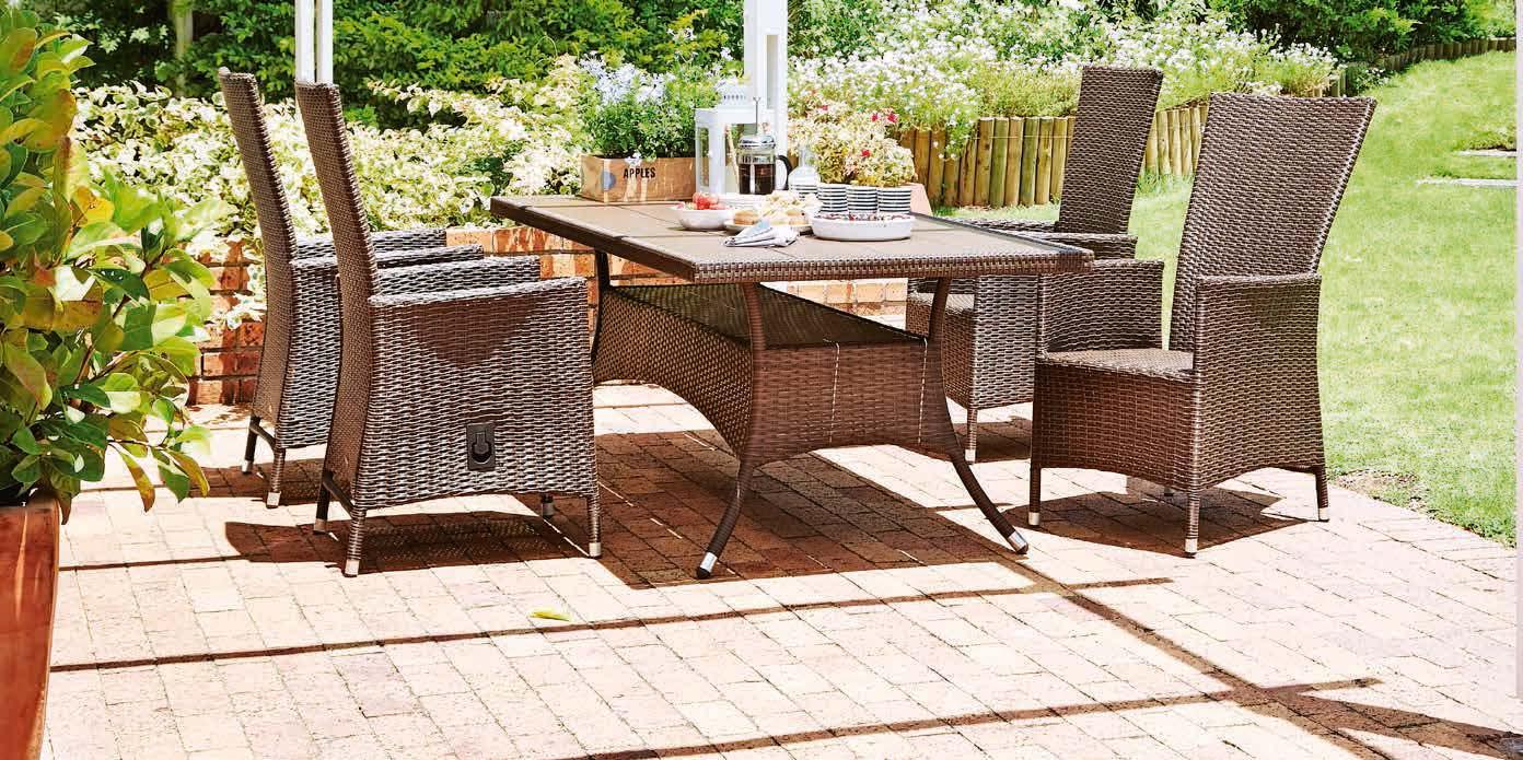 Stół Sandvig + 4 krzesła Skive
