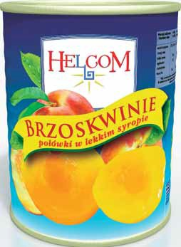 Brzoskwinie w syropie Helcom