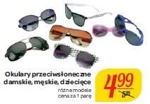 Okulary przeciwsłoneczne damskie, męskie, dziecięce