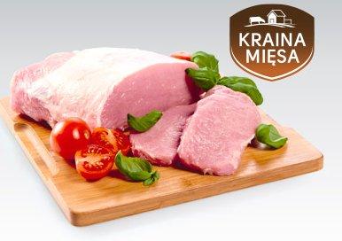 Schab wieprzowy bez kości porcja Kraina Mięsa