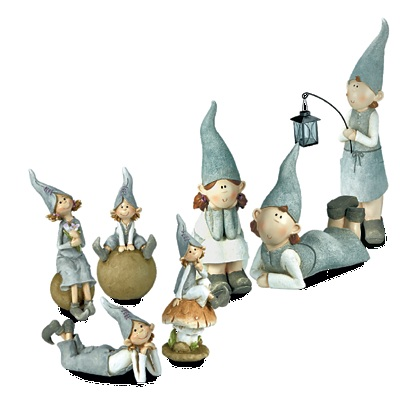 Figurki ogrodowe Elf
