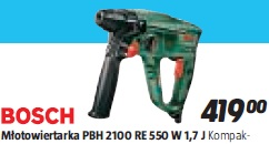 Młotowiertarka PBH 2100 RE 550 W 1,7 J