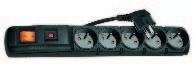Acar LISTWA PRZEPI?CIOWA F5 •5 gniazd z uziemieniem •Bezpiecznik automatyczny