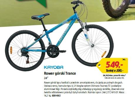 "Rower górski Trance 24"""