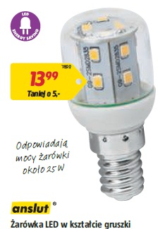 Żarówka LED w kształcie gruszki E14 • 2,2 W • 220 lm