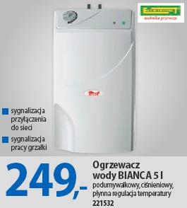 Ogrzewacz wody BIANCA 5 l
