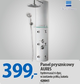 Panel prysznicowy AURIS